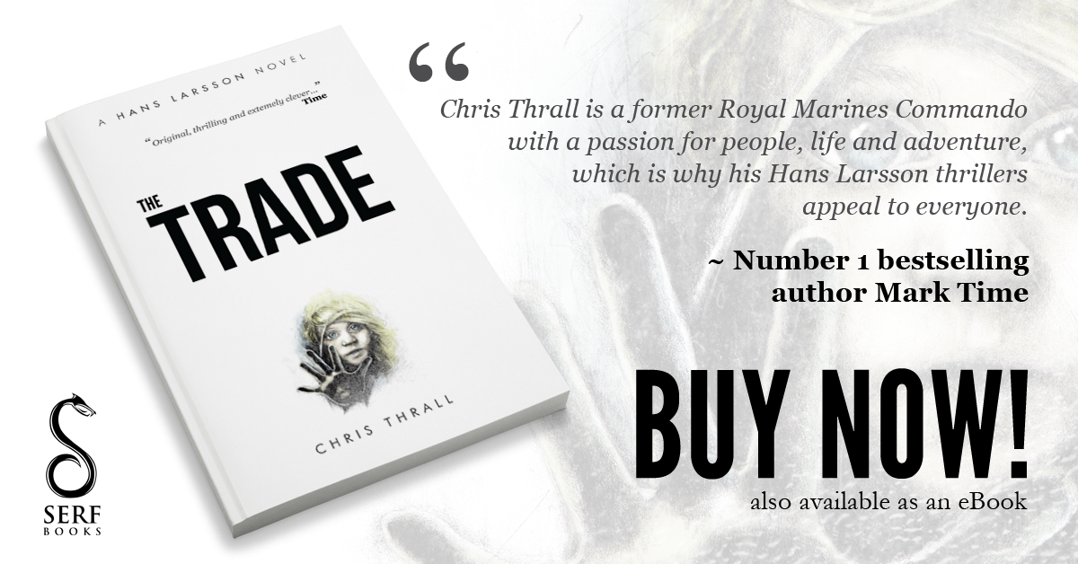 Chris Thrall's #1 Bestseller 'The Trade' FREE Today on Kindle!