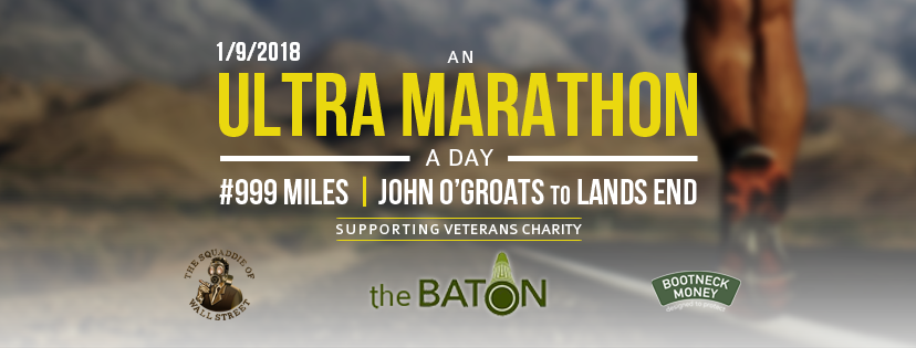 My 999 mile run to raise awareness of veterans suicide