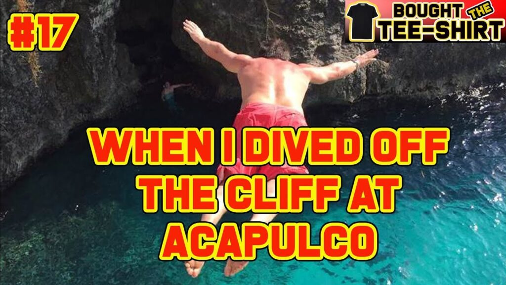 Diving Off The Cliff In Acapulco