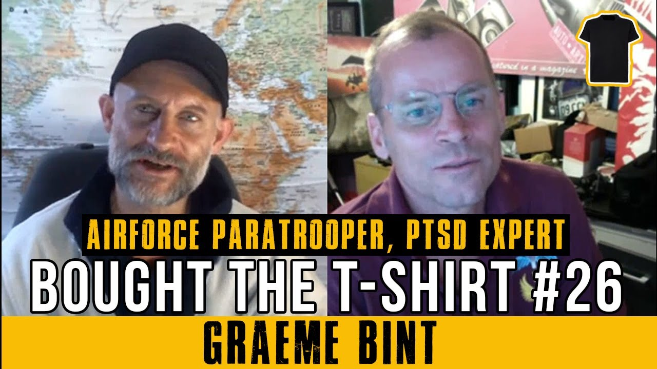 #26 Graeme Bint – Sham Wars, Media Mind Control and Supporting Veterans With PTSD