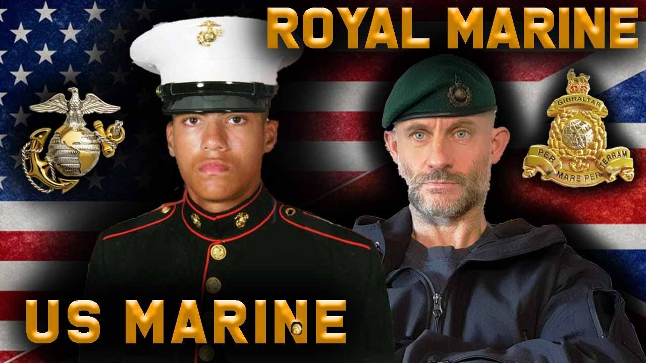 # 43 Royal Marine & USMC Veteran React To Each Other's Training | Combat Arms Channel & Chris Thrall
