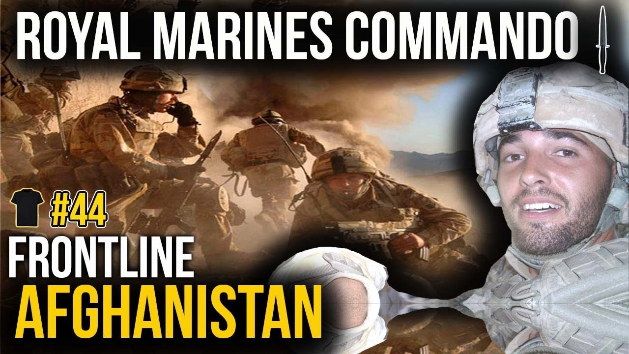 #44 Royal Marines Commando | Afghanistan | Ben Williams | Bought The  T-Shirt Podcast