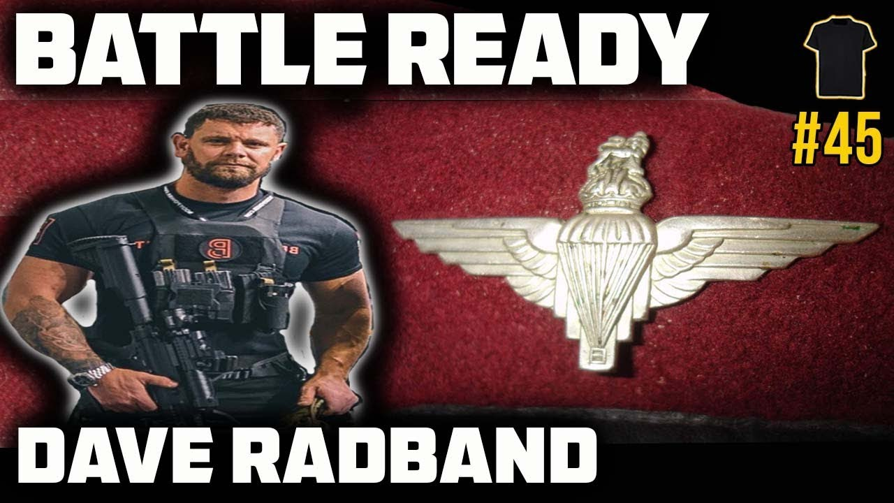 #45 Special Forces Support Group | Dave Radband | Parachute Regiment | Bought The T-Shirt Podcast