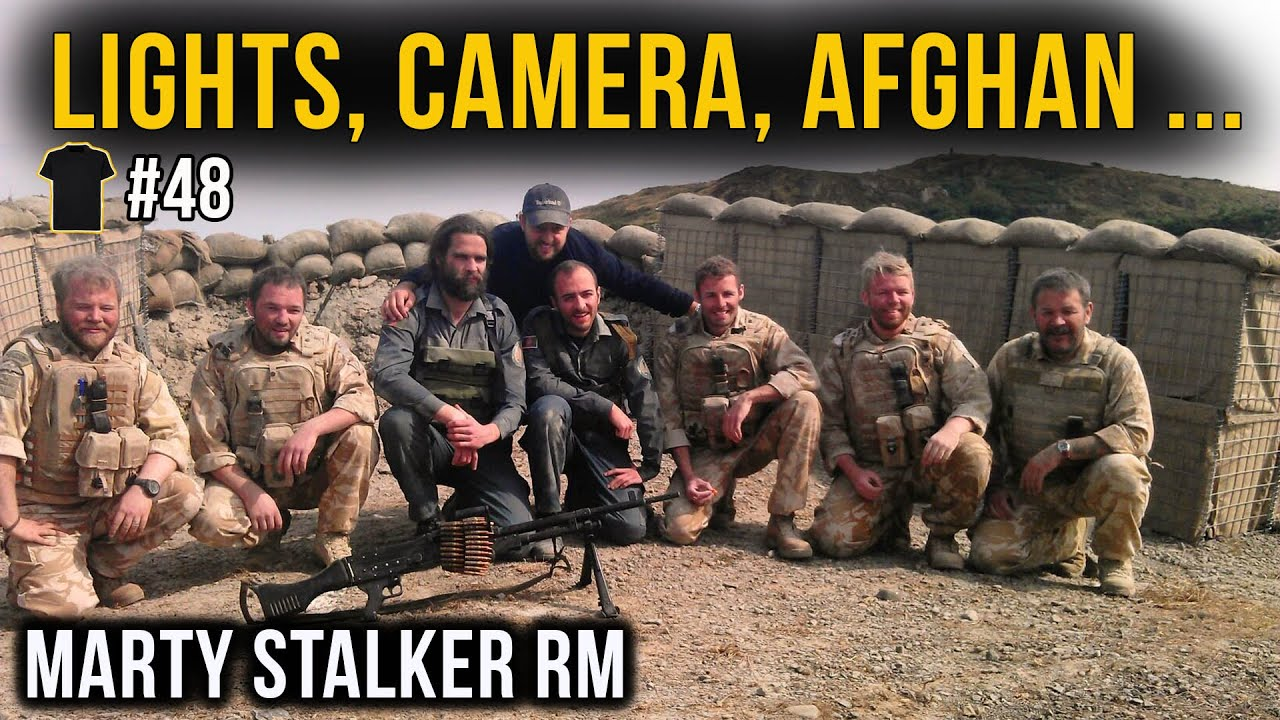 #48 Satanic Hollywood | Royal Marines Commando | Netflix Producer | Marty Stalker | Afghanistan