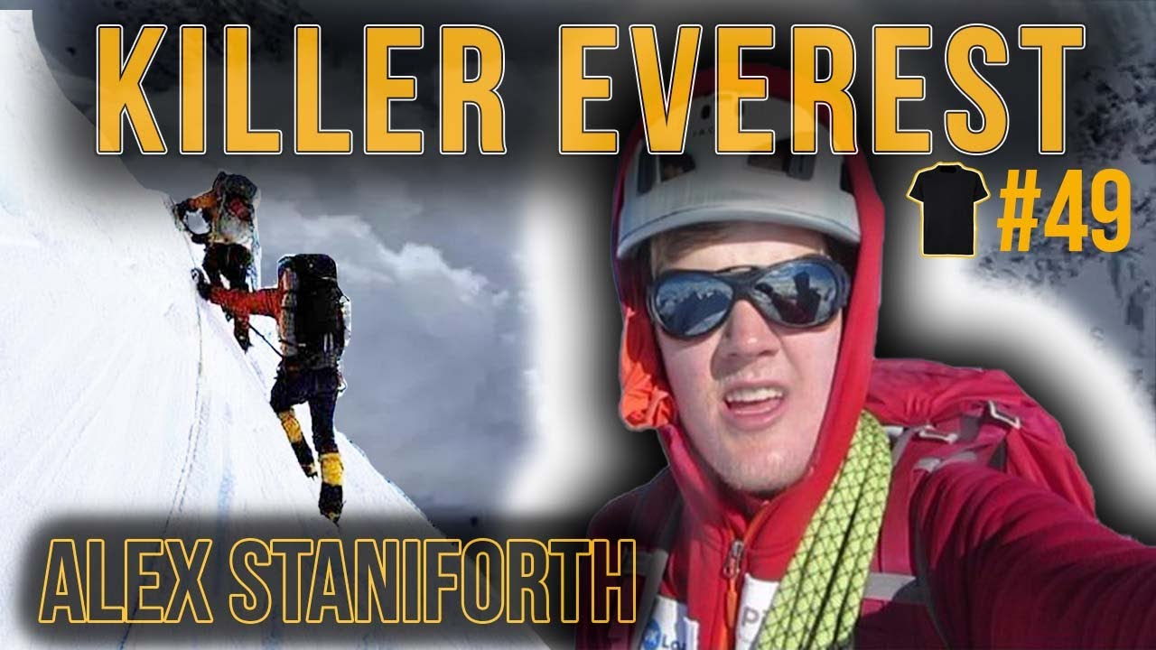 # 49 Stranded On Everest at 18 | Alex Staniforth | Chris Thrall's Bought The T-Shirt Podcast