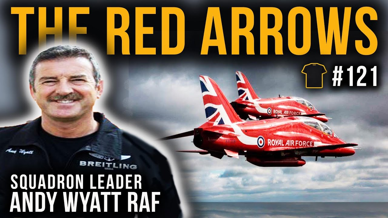 #121 From Red Arrows To 747 Pilot | Squadron Leader Andy Wyatt | Bought The T-Shirt Podcast