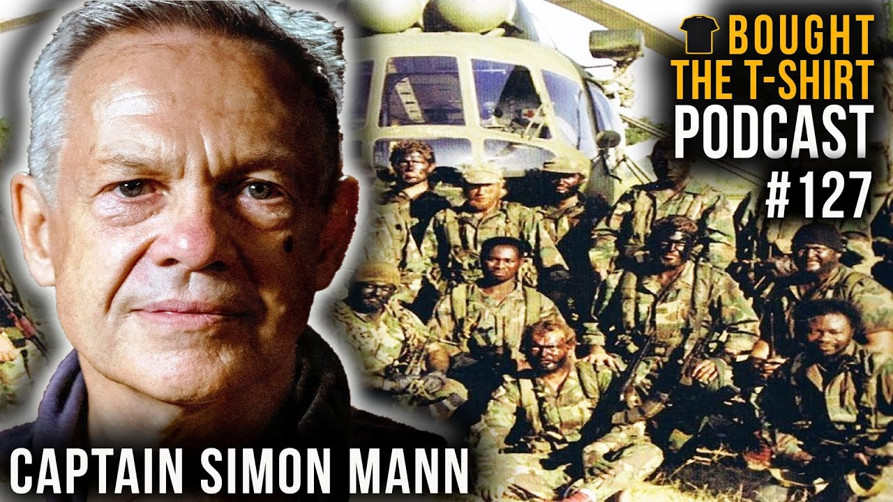 #127 SAS Captain | Mercenary | Political Prisoner | Simon Mann | Bought The T-Shirt Podcast