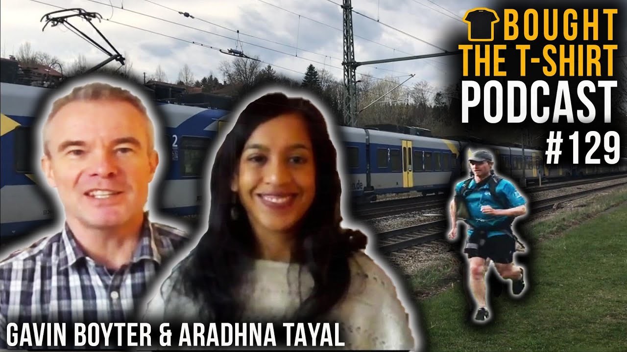 #129 COMMANDO Mindset Vs ULTRA | Gavin Boyter & Aradhna Tayal Talk Running With Royal Marine Chris Thrall