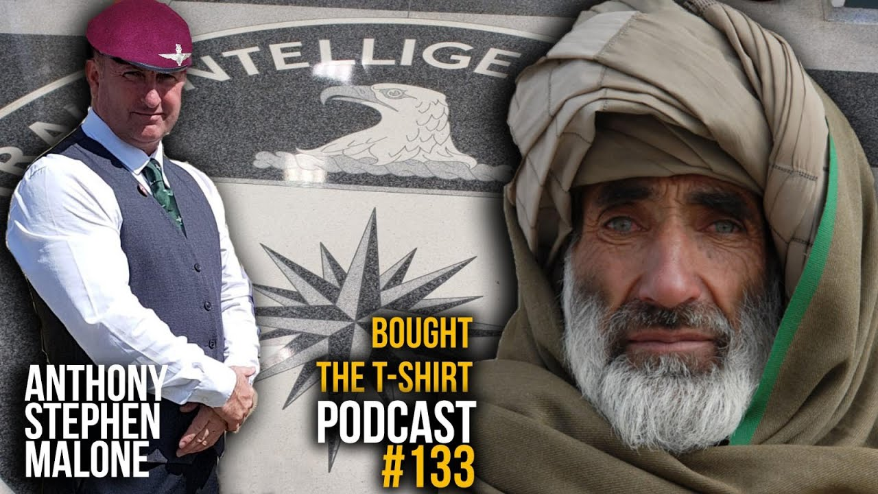 #133 Paras To CIA Asset | Anthony Stephen Malone | Bought The T-Shirt Podcast
