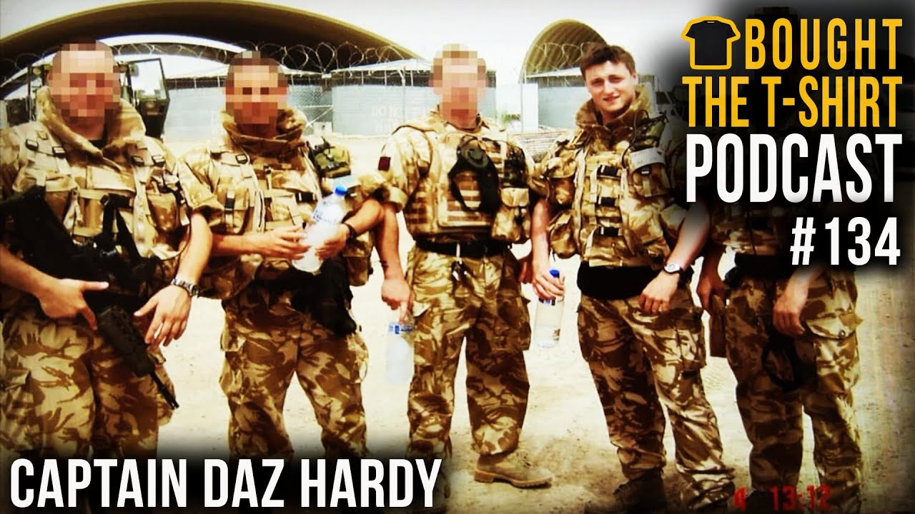 #134 Royal Marine & Army PTI Discuss Endurance Mindset | Chris Thrall & Daz Hardy | Iraq To Ironman