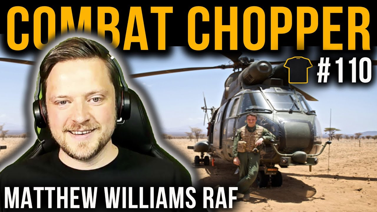 #110 Everything Drones! | Combat Chopper Pilot | Matt Williams | Royal Air Force | Chris Thrall's Podcast