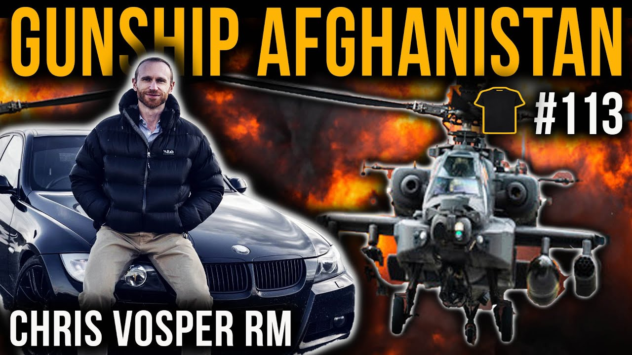#113 Commando Apache Attack Pilot | Afghanistan | Chris Vosper | Racing Driver | V-Force Combat Driving