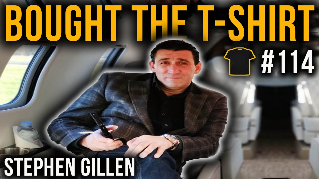 #114 Britain's Most Feared Gangster And Armed Robber | Stephen Gillen | Ambassador For Peace | London