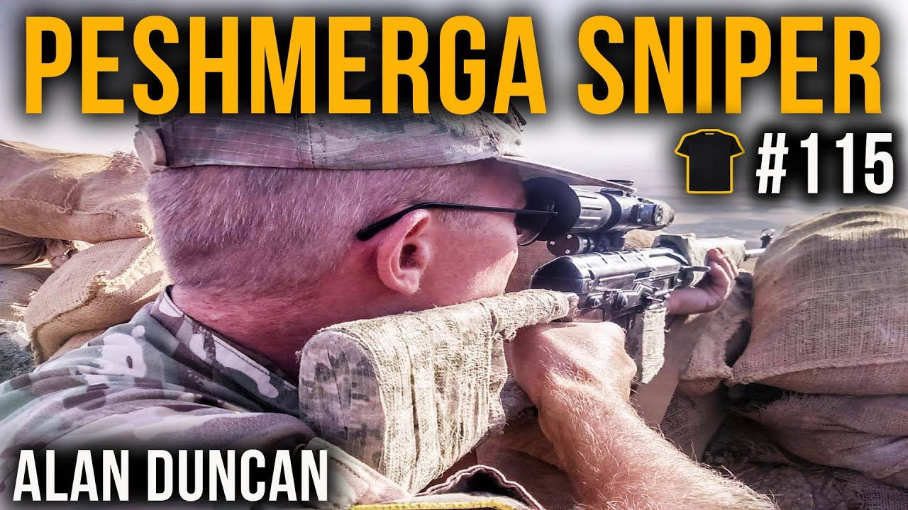 #115 Killing ISIS | Peshmerga Sniper Alan Duncan | Chris Thrall's Bought The T-Shirt Podcast