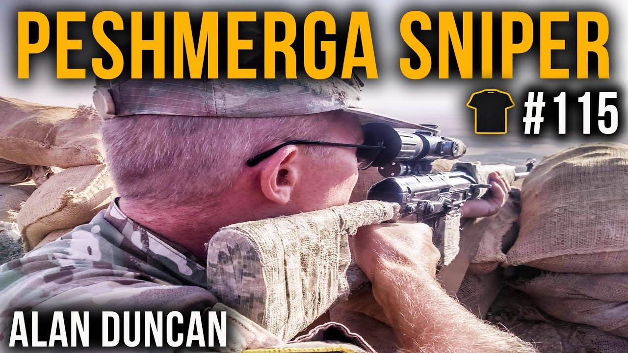 Killing ISIS | Peshmerga Sniper Alan Duncan | #115