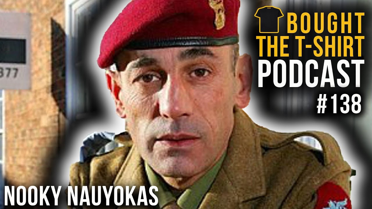 #138 Bad Lads Army   WO2 Nooky Nauyokas   Bought The T-Shirt Podcast