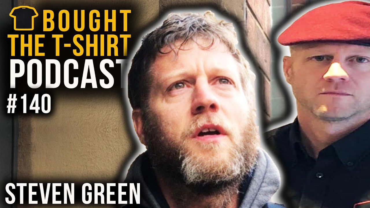 #140  Steven Green | Para to Property Investor | Bought the T-Shirt Podcast