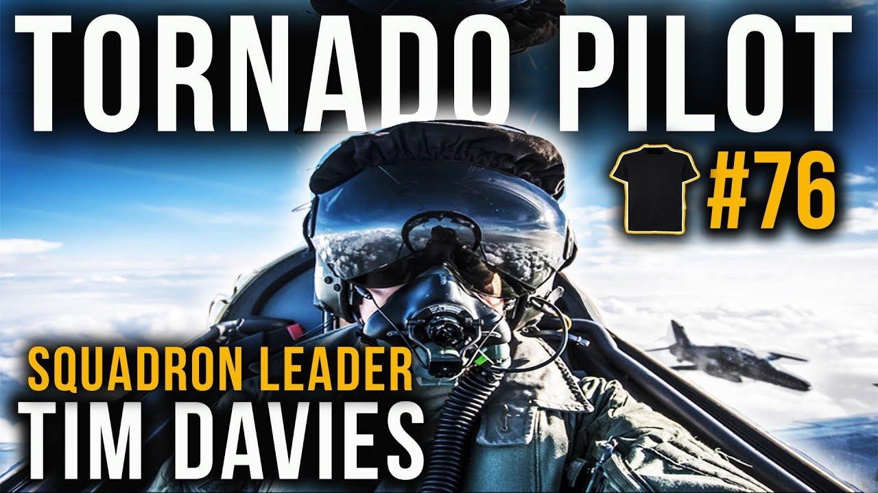 Tornado pilot with Tim Davies | Fast Jet Performance | #76