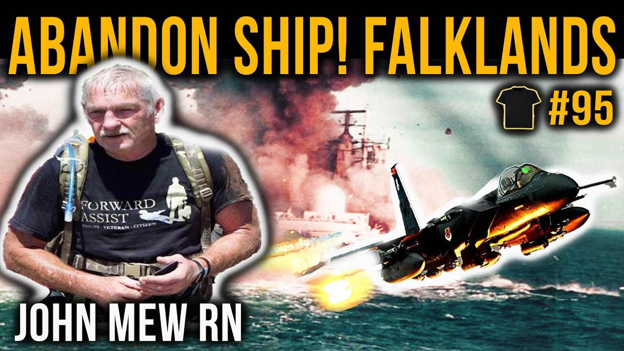 Sunk In The Falklands | John Mew | HMS Coventry | #95