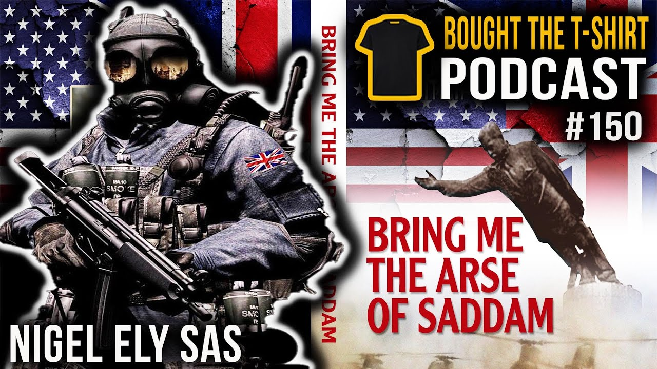 #150 SAS Legend On The Fight For Goose Green | Nigel Ely | Special Air Service | Bought The T-Shirt