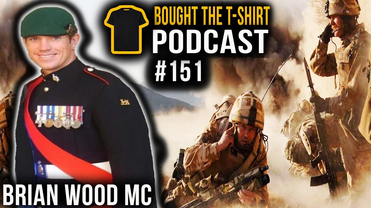 #151 FIX BAYONETS! | The Battle Of Danny Boy | Brian Wood MC | Bought The T-Shirt Podcast