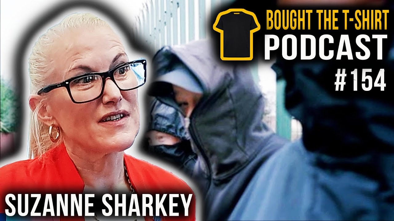 #154 Suzanne Sharkey | Former Undercover Drugs Officer | Bought The T-Shirt Podcast