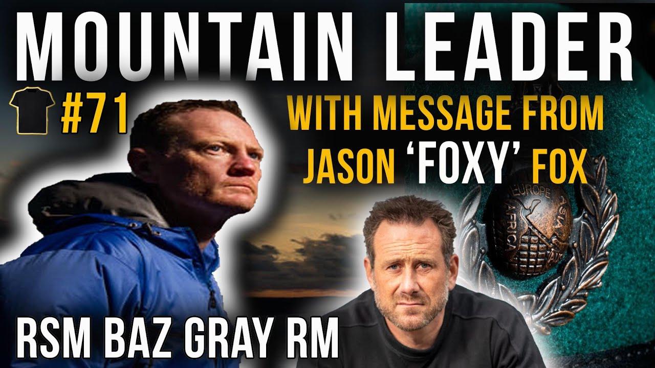 Royal Marines Mountain Leader (ML) | RSM Baz Gray | #71