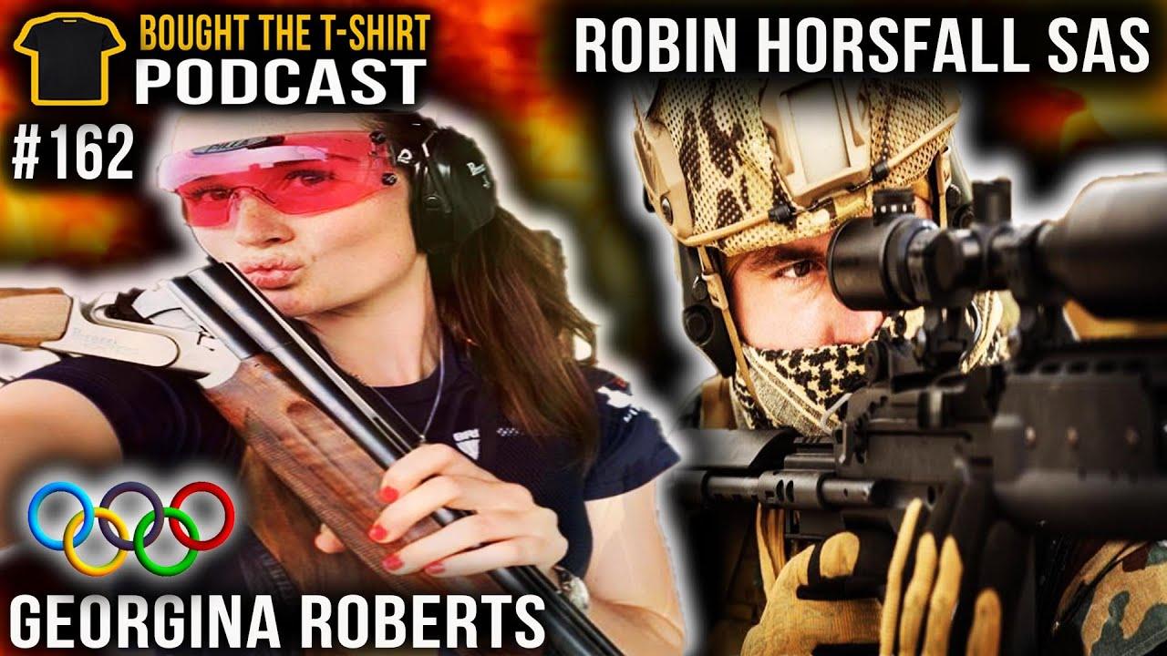 SAS Sniper Vs Olympic Sharpshooter | Podcast #162