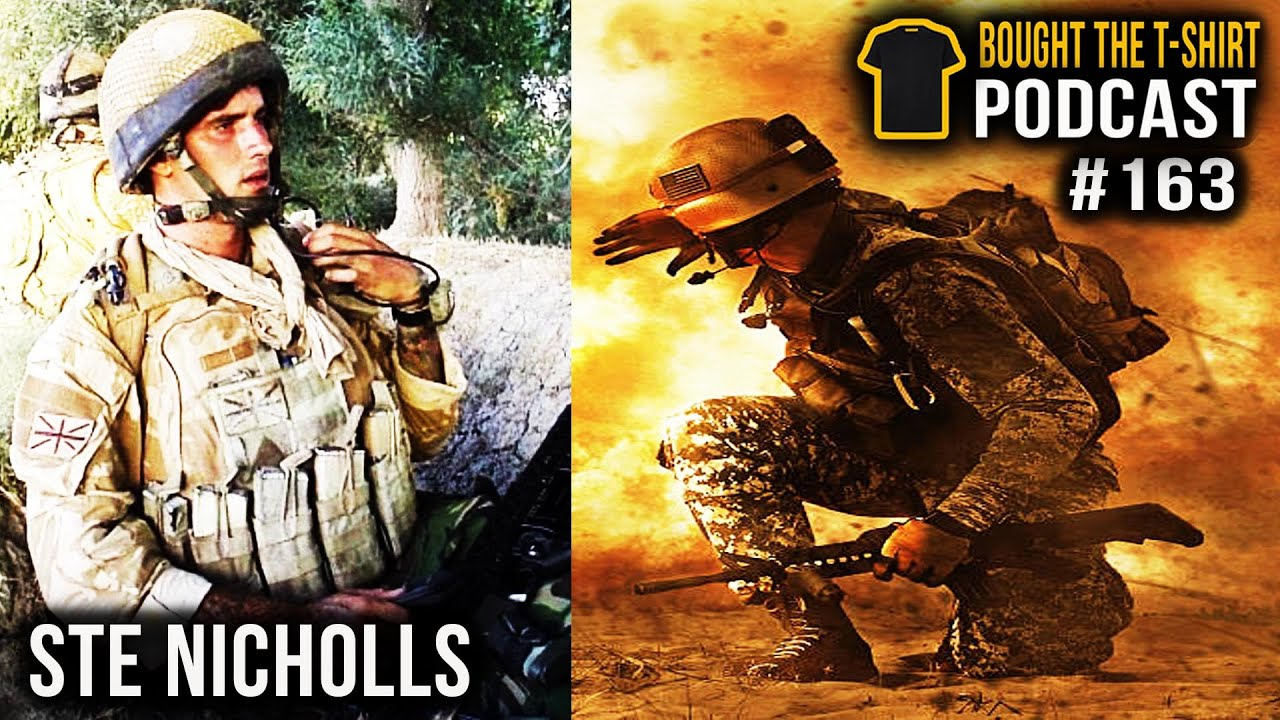 Horror Of War Ste Nicholls | Bought The T-Shirt Podcast #163