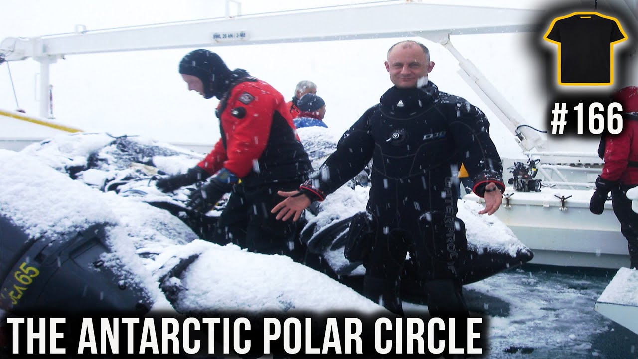 Scuba Diving In The Antarctic Polar Circle | Podcast #166