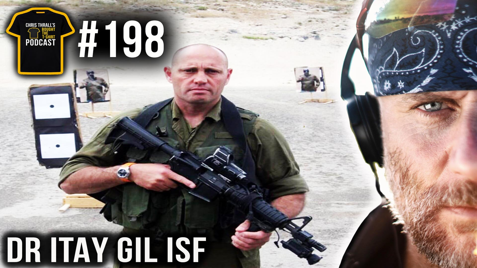 Israeli Special Forces Commander | Dr Itay Gil | Podcast #198