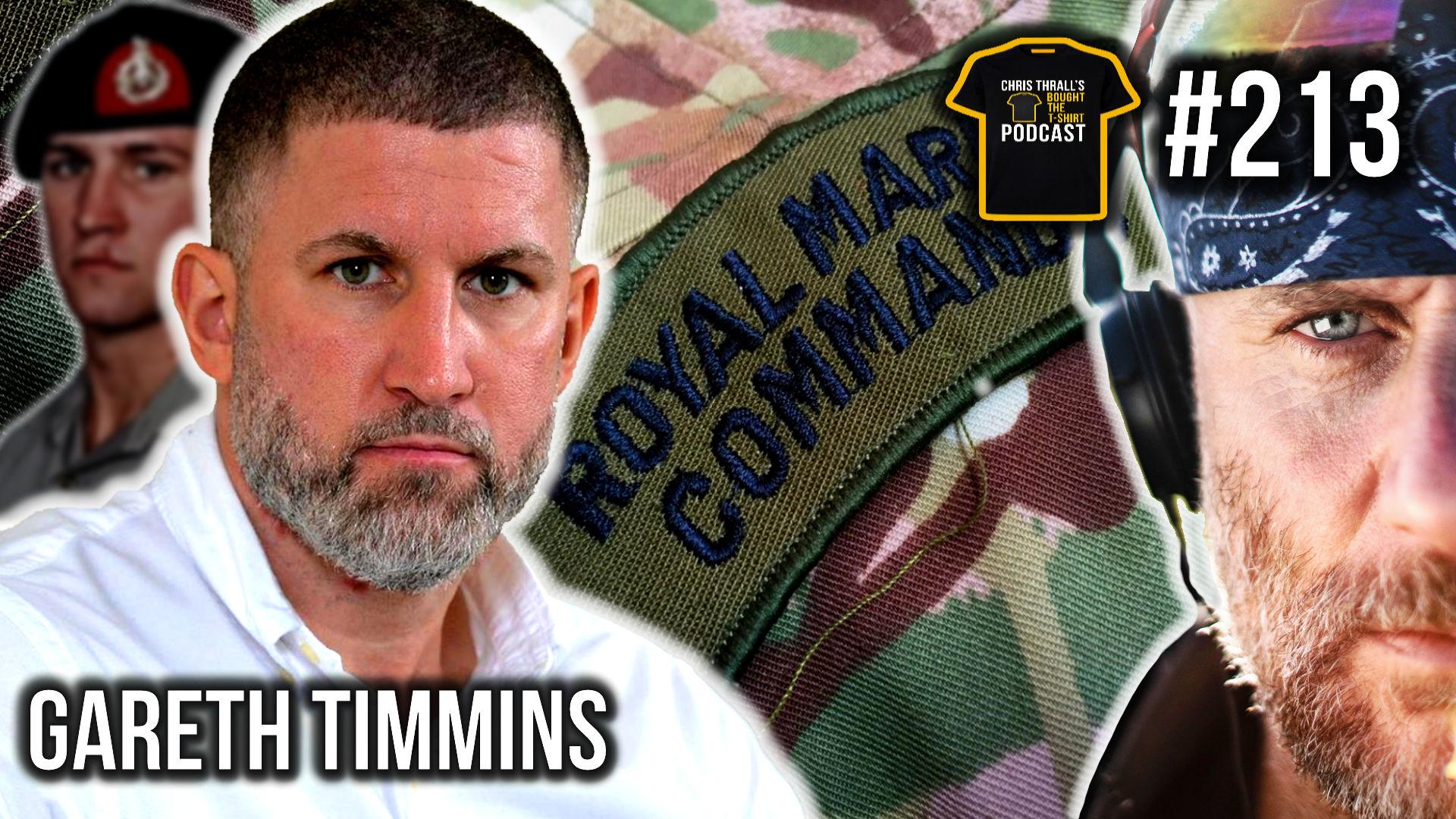 Becoming The 0.1% | Royal Marines | Gareth Timmins | Podcast #213