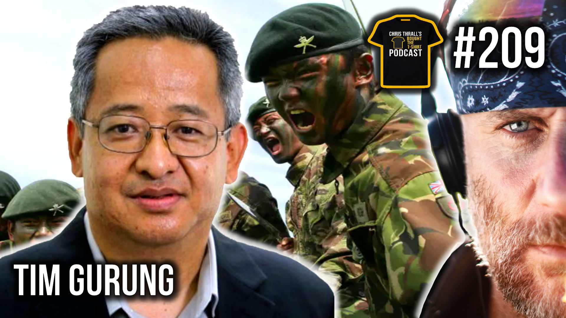 Better To Die Than Be A Coward | The Gurkhas | Podcast #209