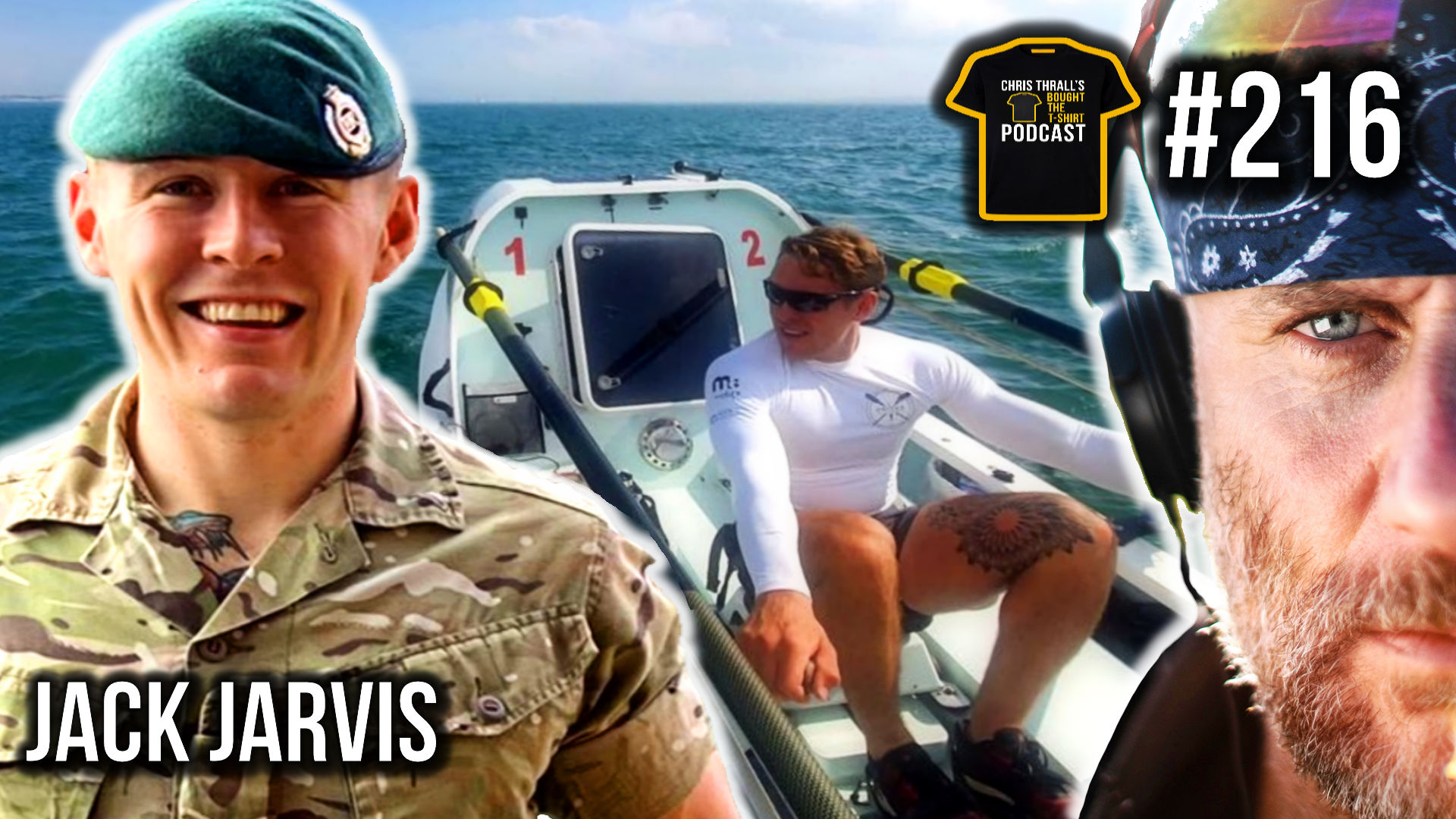 All Arms Commando Course & Rowing The Atlantic | Podcast #216